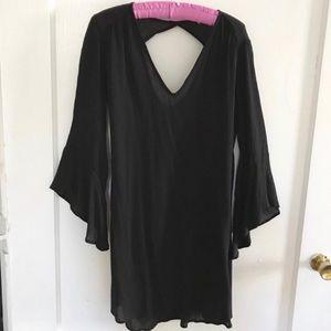 NWOT Lush Black Cocktail Mini Dress - Small